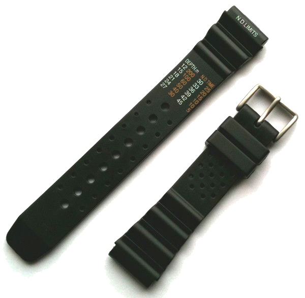 fce97ff871e Citizen Promaster Watch Strap type No Decompression Limits Black