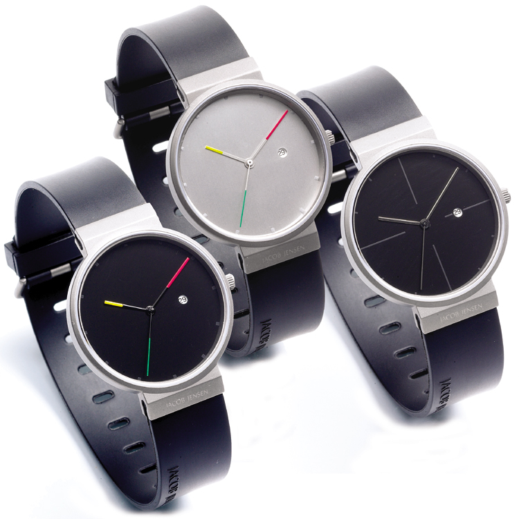 jacob jensen watch band 640 641 650 651 662 670 680 681 rubber 17mm. Black Bedroom Furniture Sets. Home Design Ideas