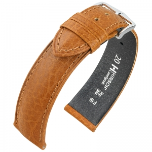 Hirsch Camelgrain Watch Band Pro Skin Allergy Free Honey