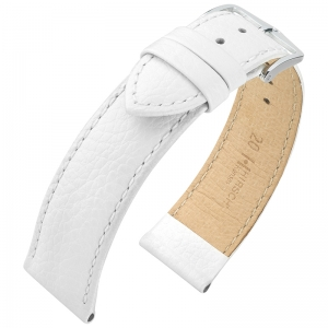 Hirsch Kansas Watchband Buffalograin White