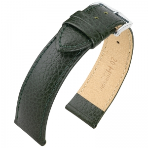 Hirsch Kansas Watchband Buffalograin Green