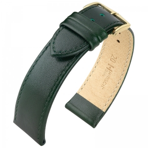 Hirsch Osiris Watch Band Box Leather Green