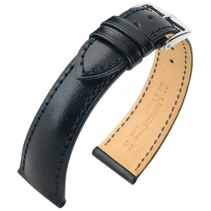 Hirsch Siena Artisan Watch Band Black