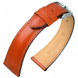 Hirsch Siena Artisan Watch Band Golden Brown