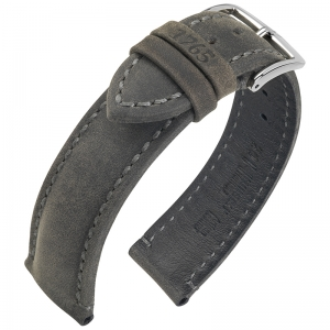 Hirsch Heritage 1765 Artisan Watch Band Anthracite