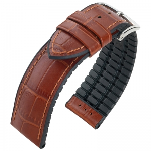Hirsch Paul Performance Collection Brown/Black Leather/Caoutchouc 300m WR