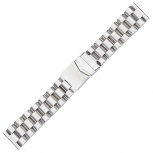 Watch Bracelet with Folding Clasp Stainless Steel