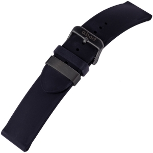 a.b.art Watch Strap series O/OC/OA/W Silicone Black Steel 21 mm