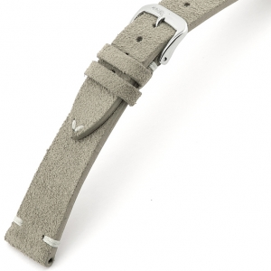 Rios Hudson Watch Strap Suede Gray