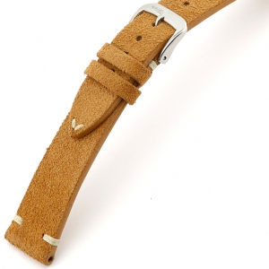 Rios Hudson Watch Strap Suede Cognac