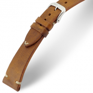 Rios Bedford Watch Strap Vintage Leather Cognac