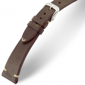 Rios Bedford Watch Strap Vintage Leather Mokka