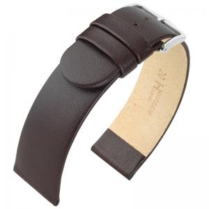 Hirsch Scandic Watch Band Calf Skin Brown