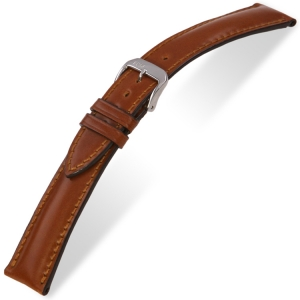 Rios Chicago Watch Strap Shell Cordovan Cognac