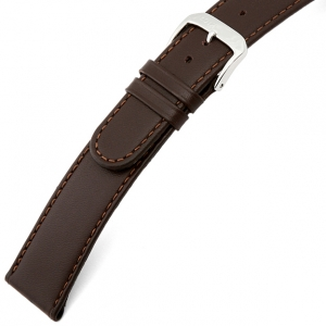 Rios Ecco Watch Strap Cowhide Brown
