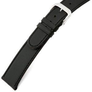 Rios Ecco Watch Strap Cowhide Black