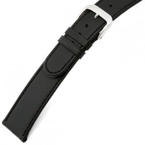 Rios Ecco Watch Strap Cowhide Black