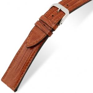 Rios Avenue Watch Strap Teju Lizard Skin Cognac