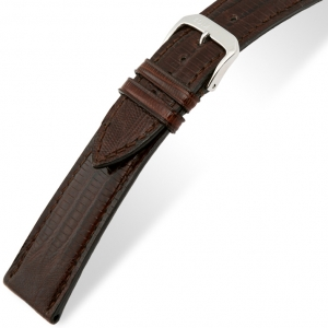 Rios Avenue Watch Strap Teju Lizard Skin Brown