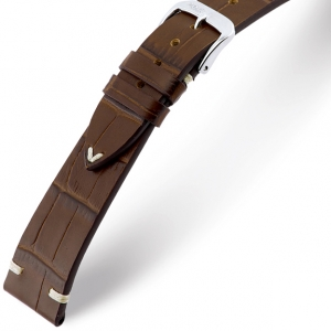 Rios Hollywood Watch Strap Cowhide Mocka