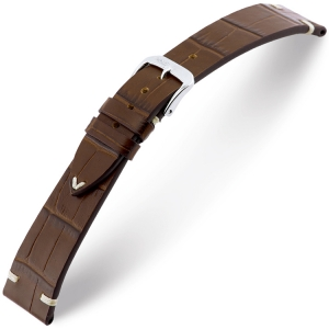 Rios Hollywood Watch Strap Cowhide Brown