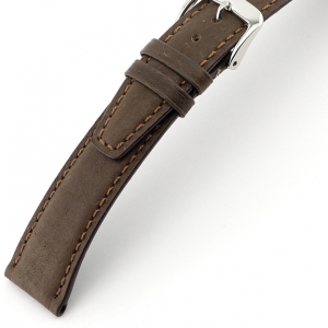 Rios Tobacco Watch Strap Pigskin Brown