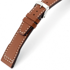 Rios Blizzard Watch Strap for IWC Calf Skin Cognac