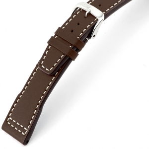 Rios Blizzard Watch Strap for IWC Calf Skin Mokka