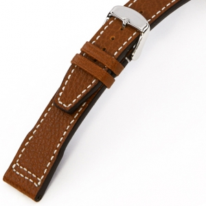 Rios Typhoon Watch Strap for IWC Buffalo Skin Cognac