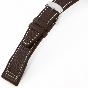 Rios Typhoon Watch Strap for IWC Buffalo Skin Mokka