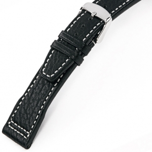 Rios Typhoon Watch Strap for IWC Buffalo Skin Black
