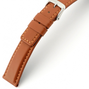 Rios Solid Watch Strap Cowhide Cognac