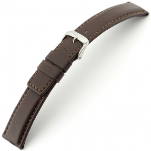 Rios Solid Watch Strap Cowhide Brown