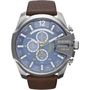 Diesel DZ4281 Watch Strap Brown Leather