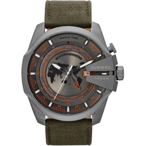 Diesel DZ4307 Watch Strap Green Leather