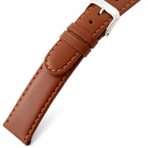 Rios Arizona Watch Strap Saddle Leather Cognac