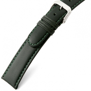 Rios Arizona Watch Strap Saddle Leather Green