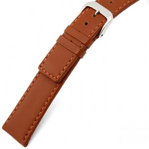 Rios Cashmere Watch Strap Lambskin Cognac