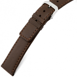 Rios Cashmere Watch Strap Lambskin Brown