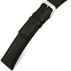 Rios Cashmere Watch Strap Lambskin Black