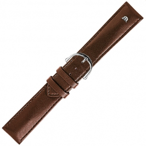 Maurice Lacroix Watch Strap Calf Skin Brown