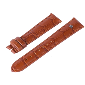 Maurice Lacroix Watch Strap Louisiana Croco-Calf Cognac