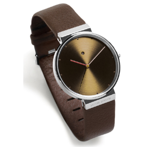 Jacob Jensen Watch Band 843 brown leather 19mm