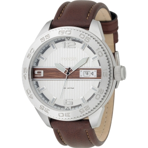 Fossil AN4217 Watch Strap Brown Leather