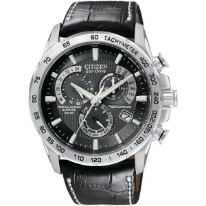 Citizen Eco-Drive Chronograph AT4000-02E Watch Strap 24mm