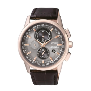 Citizen Eco-Drive Radio Controlled AT8113-12H Watch Strap