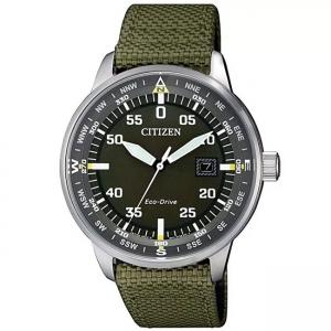 Citizen Eco-Drive Aviator BM7390-14E Watch Strap 20mm