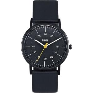 Braun BN0011BKBKL Watch Strap Black Leather