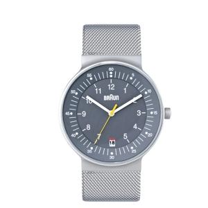 Braun BN0082GYSLMHG Watch Strap Mesh (Milanese)