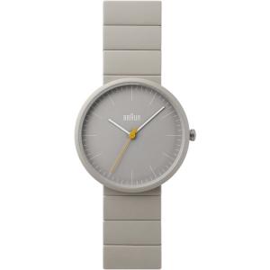 Braun BN0171GYGYG Watch Strap Grey Ceramic